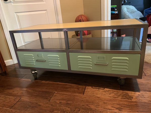 A Pottery Barn Kids Inspired Locker Room Tv Stand Media