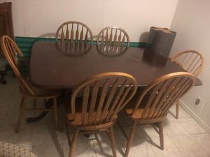 Dining table and 6 chair for Sale in Baltimore, MD
