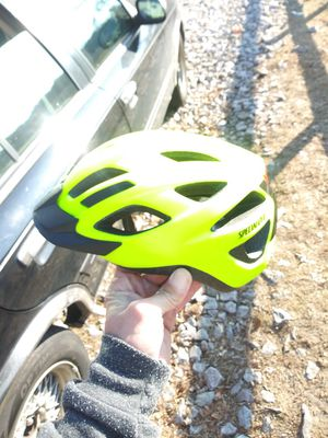 Yellow Specialized LED helmet for Sale in Dedham, MA