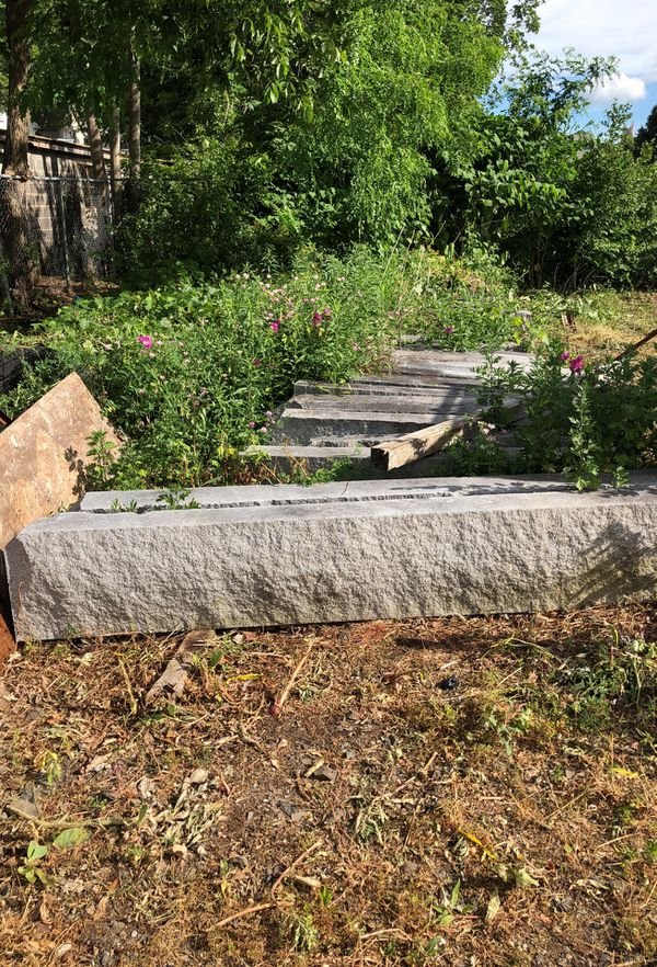 Granite curb 25 bucks a section for Sale in Bristol, CT - OfferUp