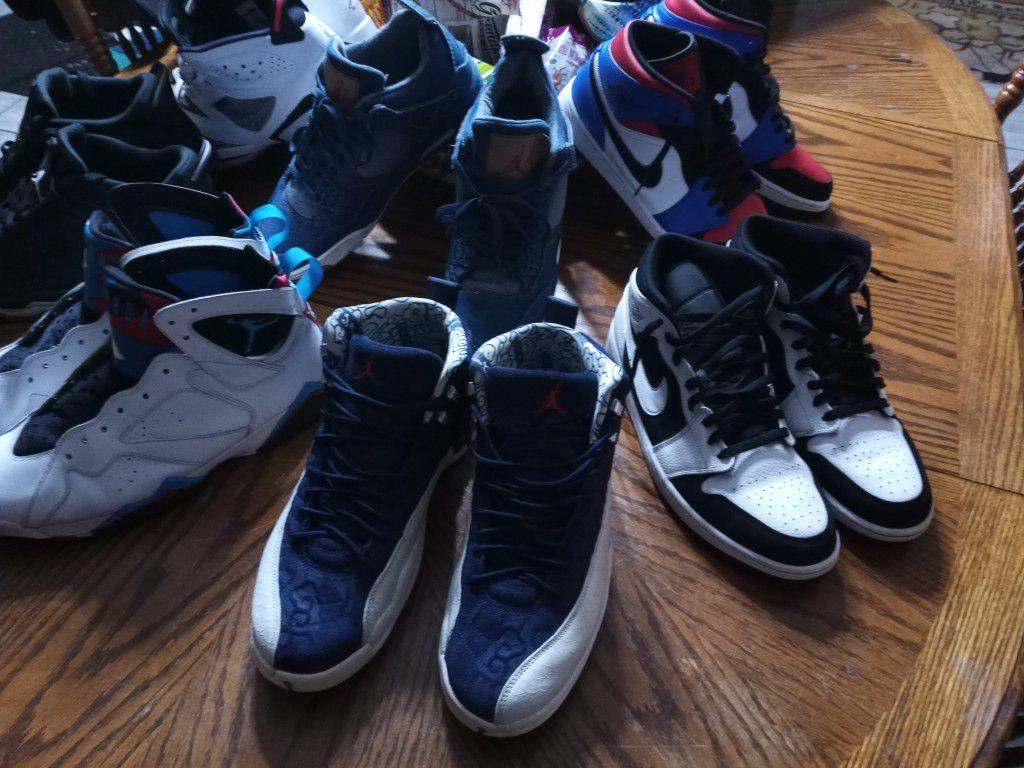 Jordans All Size 11.5-12
