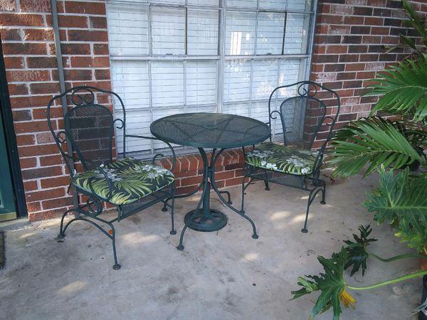 Wrought Iron Patio Furniture Houston