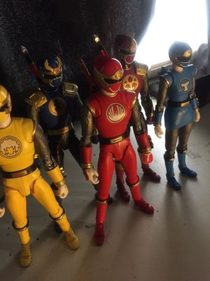 S.H Figuarts Hurricaneger Aka Power Rangers Ninja Storm for Sale in Baltimore, MD