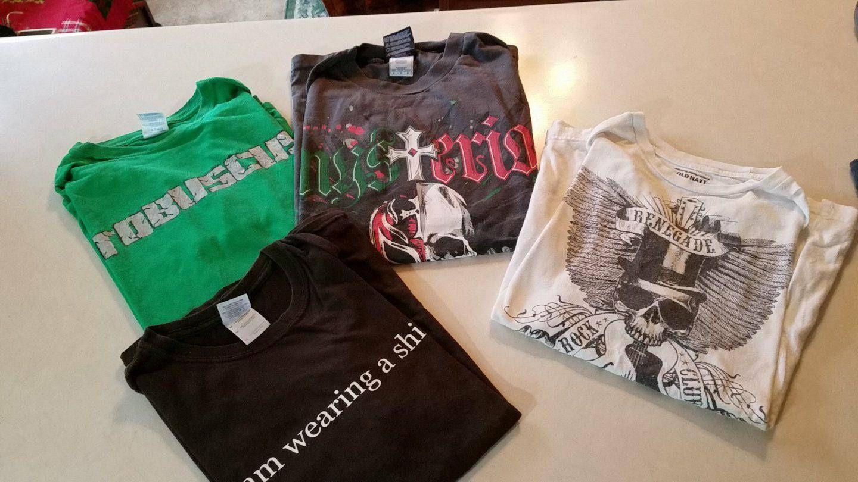 LAST CHANCE!Men's medium tshirts
