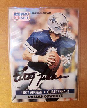 Troy Aikman autograph for Sale in Waxahachie, TX