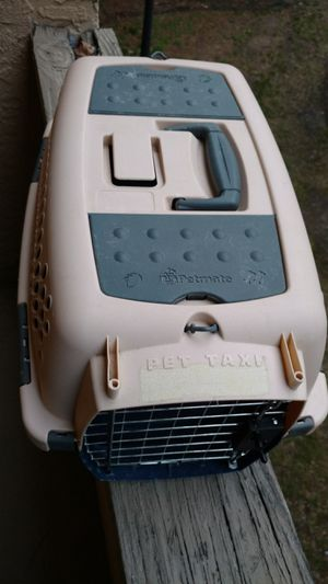 Photo Petmate ll small pet taxi dog kennel carrier
