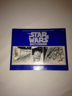 """The Original Drawings """"The Star Wars Sketchbook"""" Made In Year 1977 Close To 100 Pages Some Loose But All There Good Condition for Sale in Reedley, CA"""