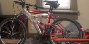 Photo Verticle pk7 aluminum 21 speed mountain bike