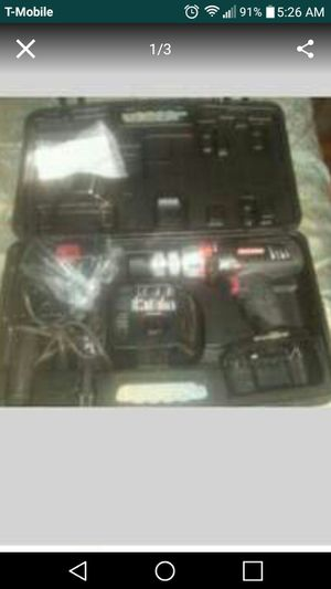 Craftsman 19.2v cordless drill/hammer for Sale in Cary, NC