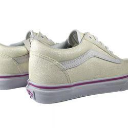 Glitter vans Size 6.5 In Kids Thumbnail