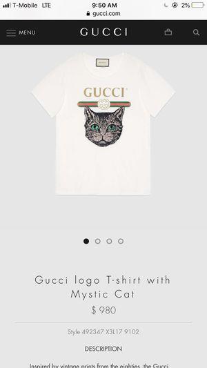 f7ef864b7529 Gucci Mystic Cat T shirt for Sale in Alexandria