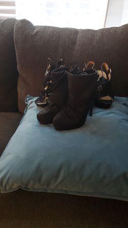 Black high heels- 3 pairs Thumbnail