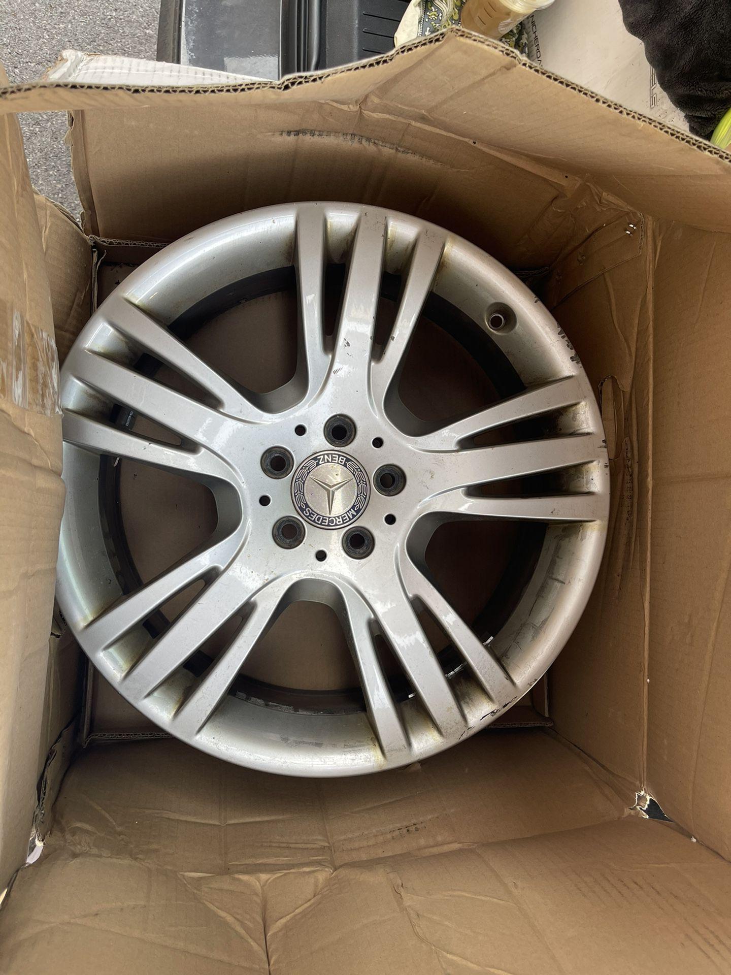 Original Mercedes Rims