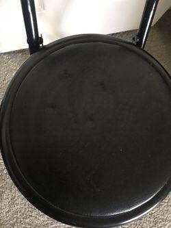 Cute Small Black Chair Thumbnail