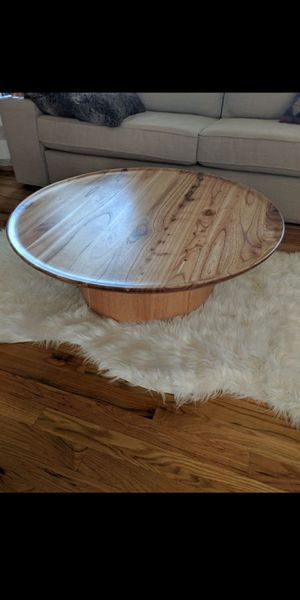 Modern solid wood coffee table Urban Outfitters for Sale in Dallas, GA