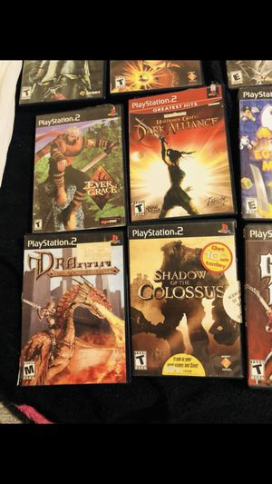 Games Playstation 2 good condition all this for only 35$ for Sale in Alexandria, VA