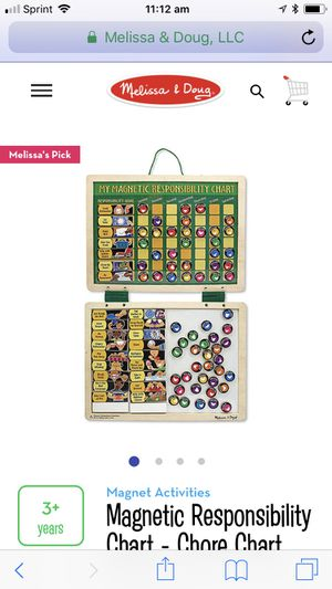 Melissa and Doug Chore Chart for Sale in Waldorf, MD