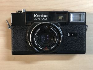 Konica C35 AF2 Auto Focus Film Camera Vintage for Sale in Vista, CA