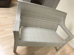 Patio Loveseat (Wicker Furniture) for Sale in Colesville, MD
