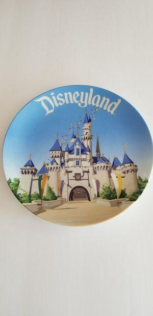 Photo Vintage Disney Land Cinderella's Castle 9-1/4 Collector Plate