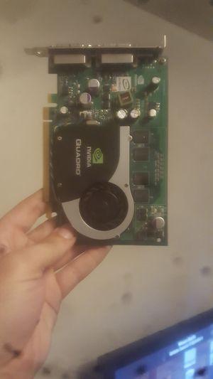 Nvidia Quadro graphics card for Sale in Auburn, WA