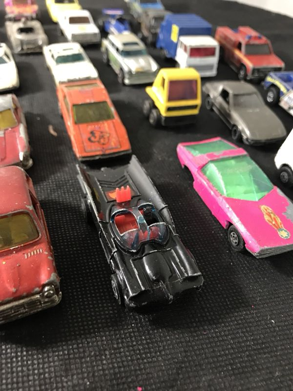 Lot of 30 Hot Wheels Cars Rare Vintage 1970s -1980 57 Chevy, Batman ...