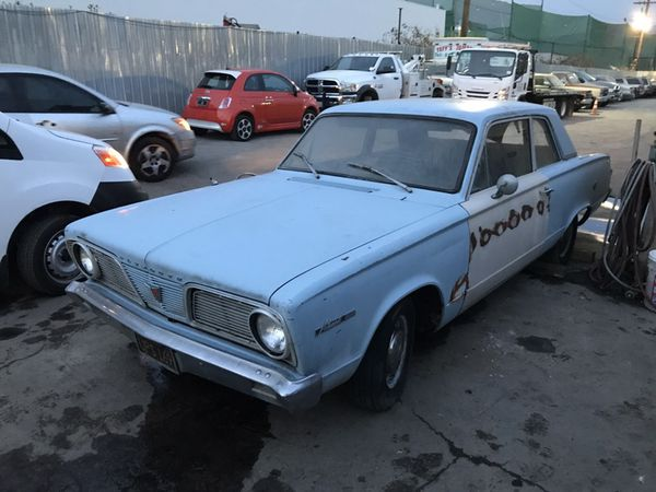 1966 Plymouth valiant 100 for Sale in Universal City, CA - OfferUp