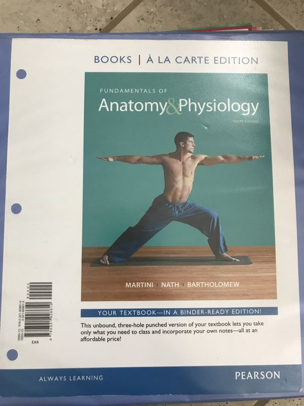 Anatomy and Physiology Book Bio 223 and 224 for CSN (Books ...