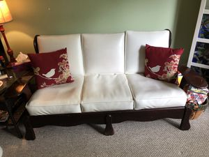 Antique couch with two chairs for Sale in Herndon, VA