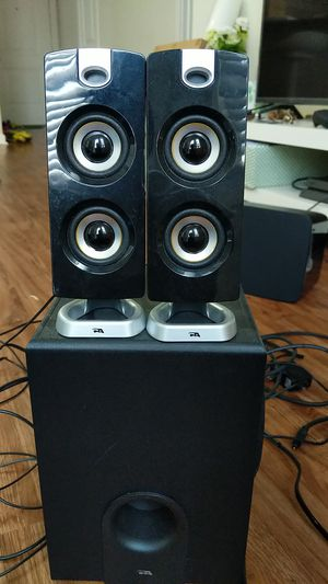 Speaker set with subwoofer for Sale in Austin, TX