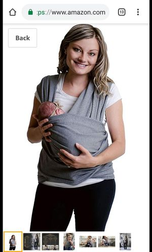 Baby Carrier Sling Wrap for Sale in Charlotte, NC