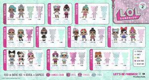 Original Series 2 Wave 1 Not Rerelease L O L Surprise Dolls For Sale In Fontana Ca Offerup