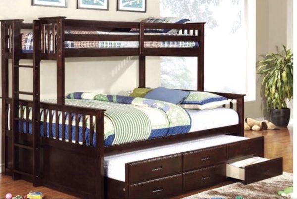 Queen Twin Bunk Bed Mattress Not Included For Sale In San Bernardino
