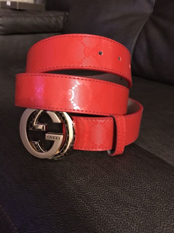c09f0b263d2 Red Gucci belt for Sale in Rockford