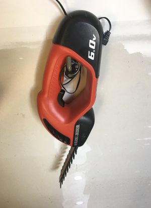 Black and Decker 6v hand trimmer for Sale in Joint Base Lewis-McChord, WA