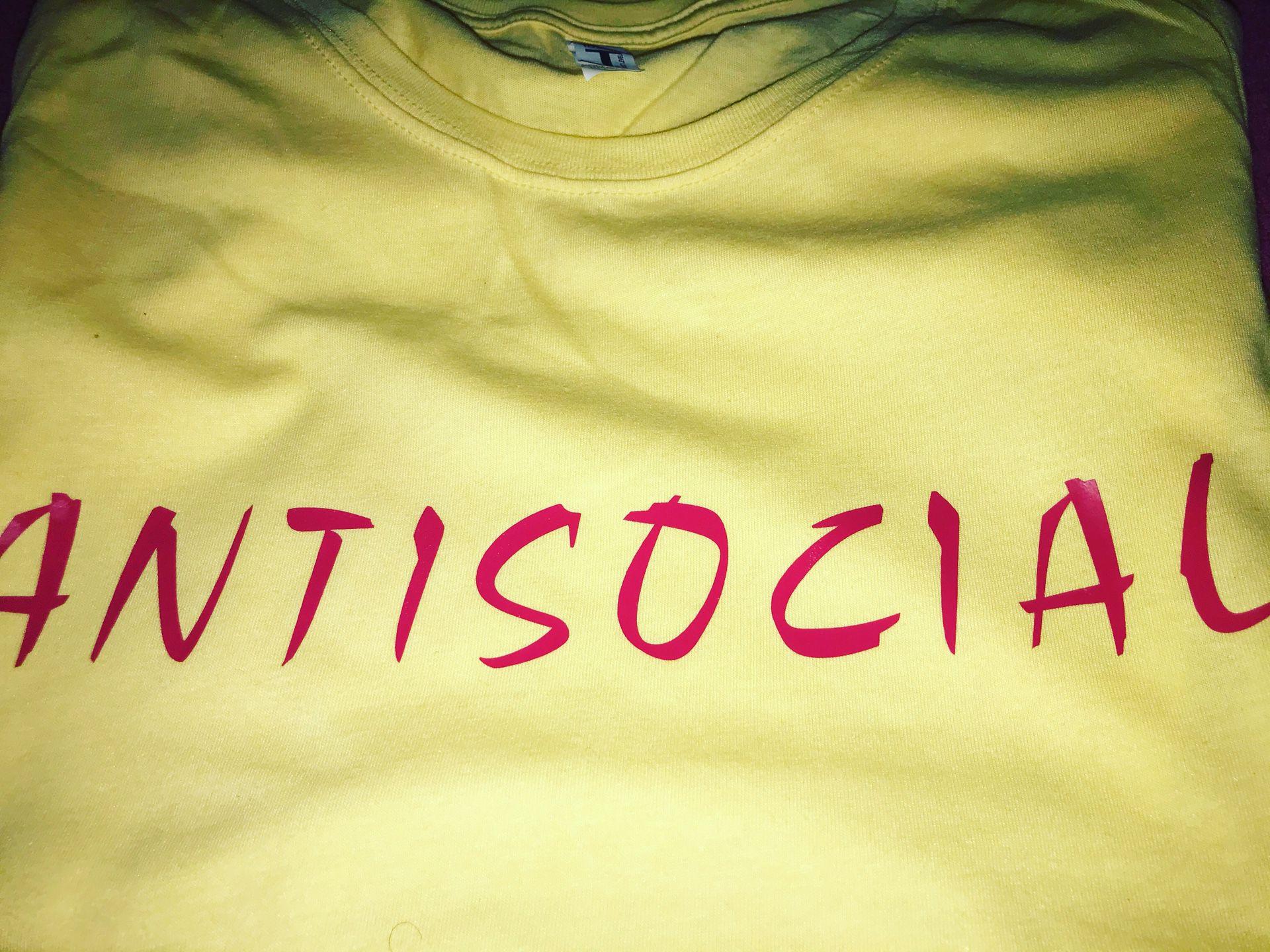 """""""ANTI SOCIAL"""" Tee"""