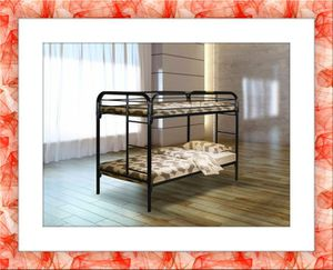 Twin bunkbed frame with 2 free mattress and shipping for Sale in Temple Hills, MD