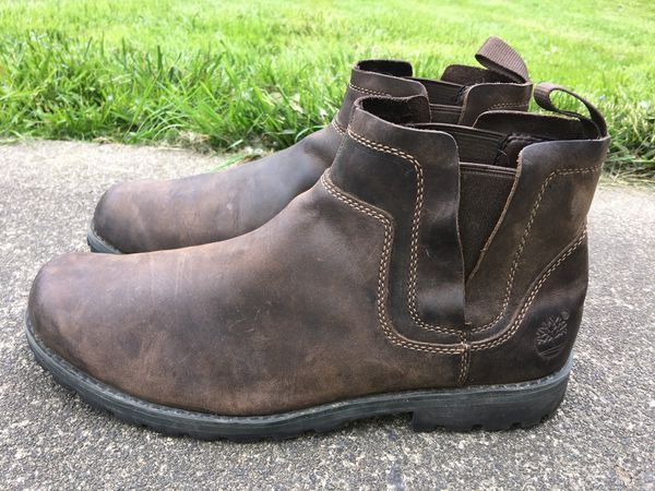 TIMBERLAND EARTHKEEPERS ORIGINAL DISTRESSED LEATHER PULL-ON ANKLE BOOTS 11.5 4a924762a