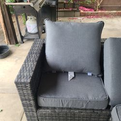 Sunbrella Outdoor Cushion Set Of 2 Thumbnail