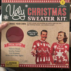 Ugly sweater kit for sale  Bentonville, AR