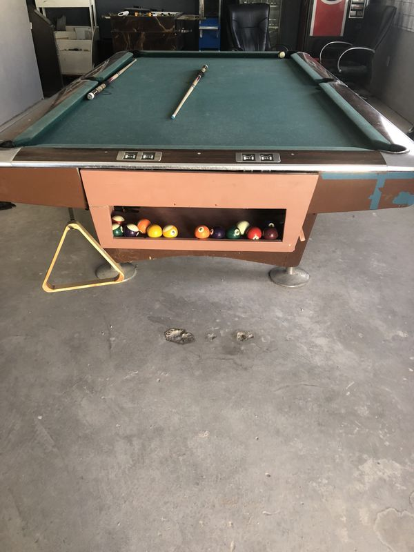 Pool Tablefridgesoda Machine For Sale In El Paso TX OfferUp - El pool table