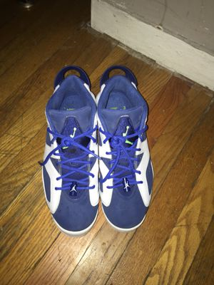 Seahawk Air Jordan 6 low Great Shape Size 10 (BaltimoreCity) for Sale in Baltimore, MD