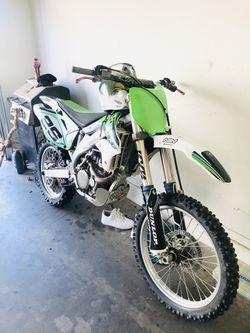 2007 Kawasaki kx450 Thumbnail