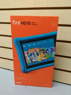 $199.99 - NEW AMAZON FIRE HD 10 Kids Ed. - BLUE for Sale in Spring Valley, CA