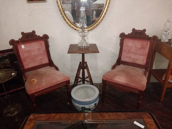 walnut victorian parlor chairs for sale in pittsburgh pa offerup