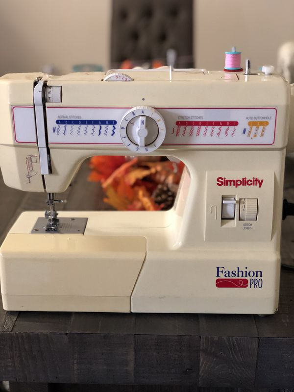 New And Used Sewing Machines For Sale In Santee CA OfferUp Simple Simplicity Fashion Pro Sewing Machine