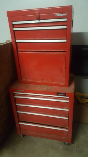 Photo Craftsman top and bottom toolbox