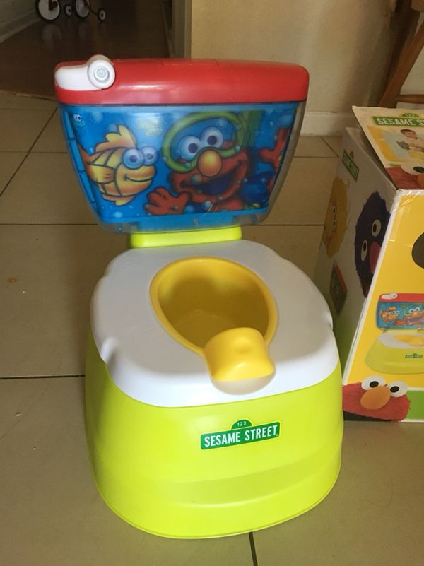 elmo toilet seat for potty training baby kids in west palm beach fl offerup