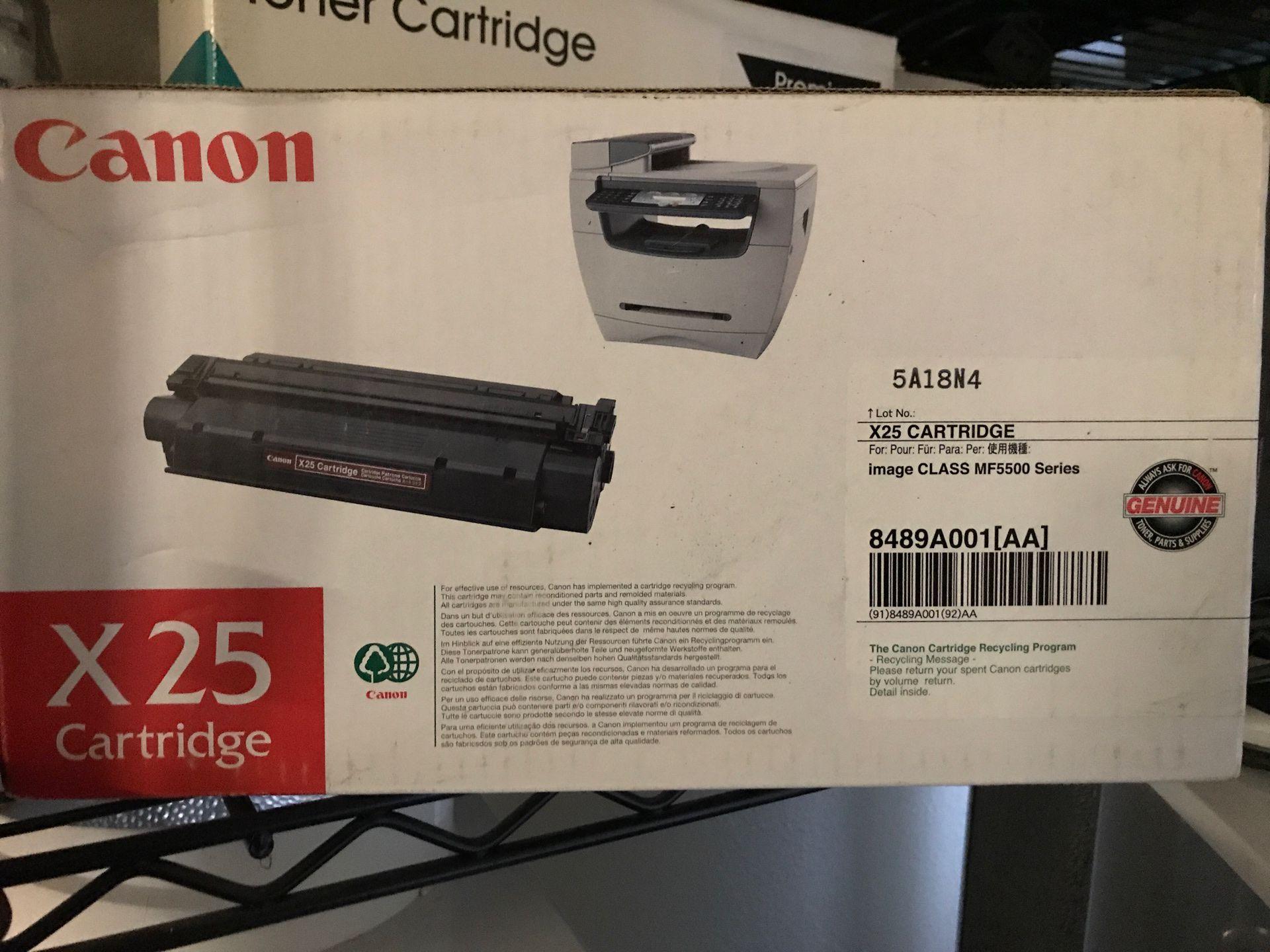Canon c25 cartridge