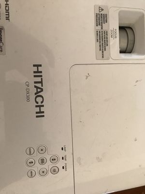 Hitachi CP-DX300 DLP Projector with power cord and VGA cable for Sale in Federal Way, WA